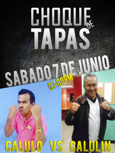 choque de tapas diseño rochita vs calixto