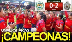 unan managua campeonas femeninas 2014