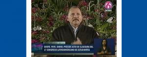 Presidente Daniel clausura el XVII Congreso de la OCLAE