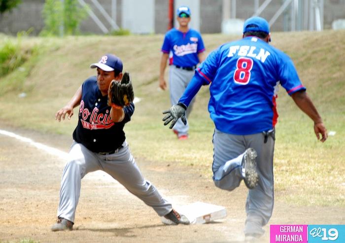 campeonato softball policia nacional nicaragua