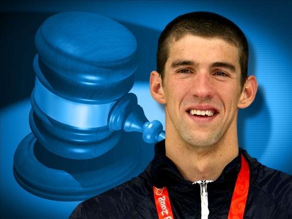 Michael Phelps arrestado por conducir ebrio