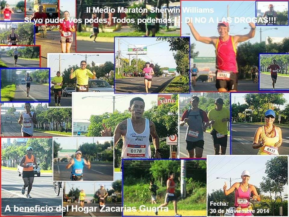 maraton sheriwn williams managua 2014