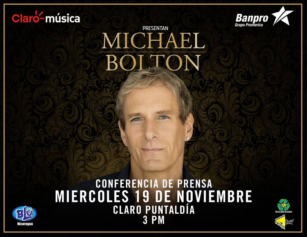 michael bolton conferencia de prensa 19 noviembre concierto