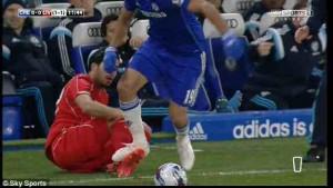 Diego Costa es sancionado con tres partidos por conducta violenta