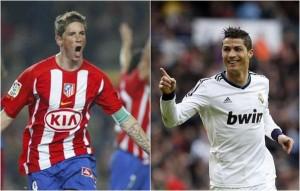 El Atlético desafía al Real Madrid en un derbi imponente