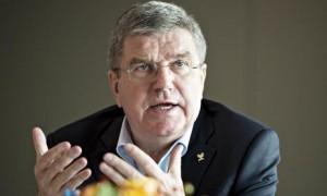 El presidente del Comité Olímpico Internacional (COI) Thomas Bach