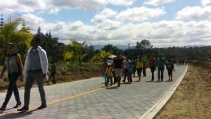 Gobierno Sandinista inaugura 4.4km de tramo carretero El Arrayan-Ciudad Antigua