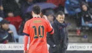 Luis Enrique dice que Barcelona no se plantea un futuro sin Messi