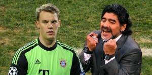 Maradona desea que Manuel Neuer se lleve el Balón de Oro