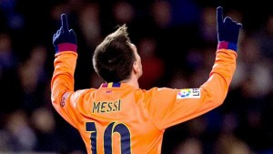 Messi guió al Barcelona en su victoria 4-0 ante el Deportivo