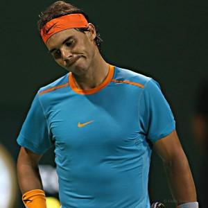 Nadal fue eliminado en la primera ronda del torneo de Doha