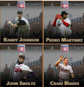 Pedro, Johnson, Biggio y Smoltz elegidos al Salón