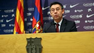 Presidente del Barcelona convoca elecciones a final de campaña