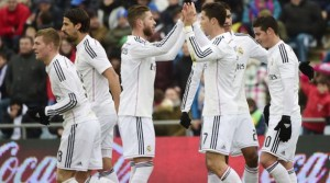 Real Madrid ganó con doblete de CR7