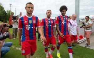 Ribery y Rafinha estará al menos dos semanas de bajas