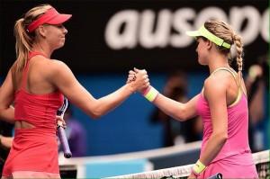 Sharapova avanza a semifinales en Australia