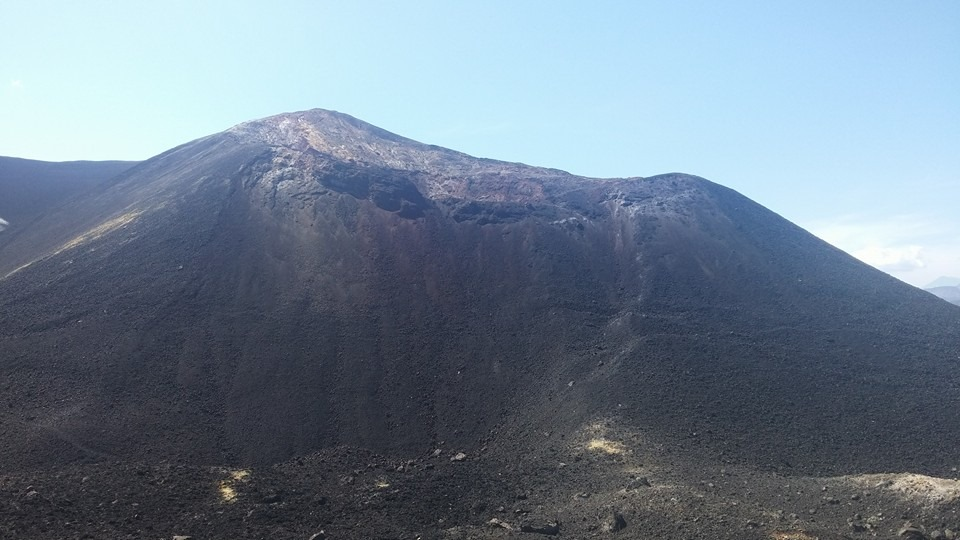 el volcan cerro negro foto de luis urbina