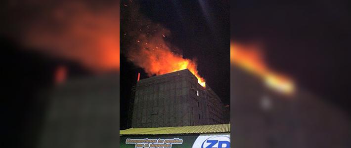 incendio en hotel