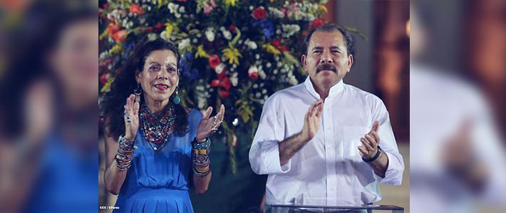 Daniel y Rosario envían mensaje al presidente Sánchez Cerén por beatificación de Monseñor Romero