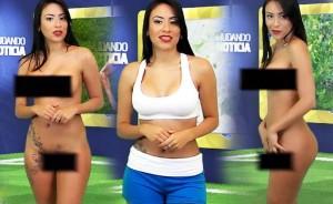 Presentadora Analizará Desnuda La Pelea Mayweather Pacquiao