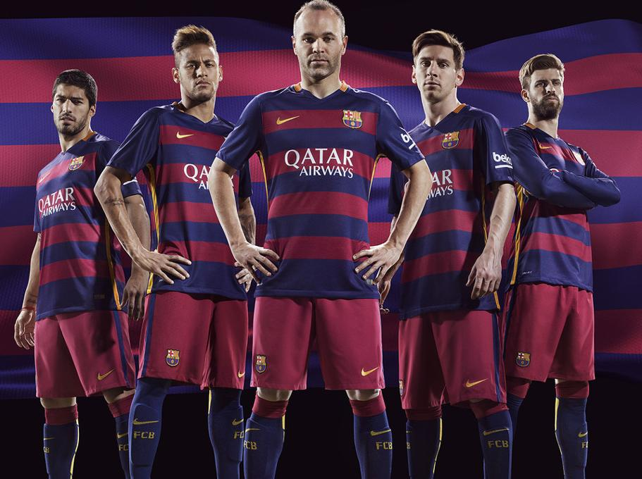 7e151e990d Barça presenta sus nuevos uniformes para la próxima temporada radio jpg  911x680 Imigen 2016 uniformes del