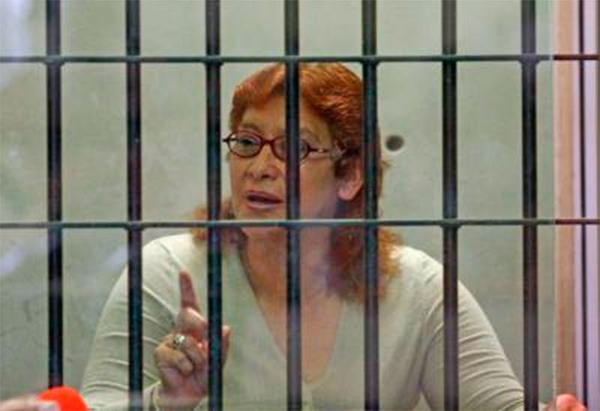 La mataviejitas se casó en una cárcel mexicana