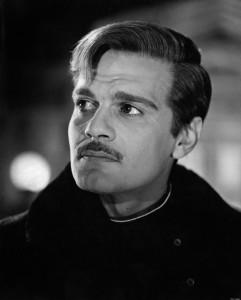 Egyptian actor Omar Sharif (Michel Demitri Shalhoub) acting in Doctor Zhivago. Spain, 1965 (Photo by Mondadori Portfolio via Getty Images)