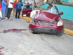 Tres mueren en accidente vial en República Dominicana