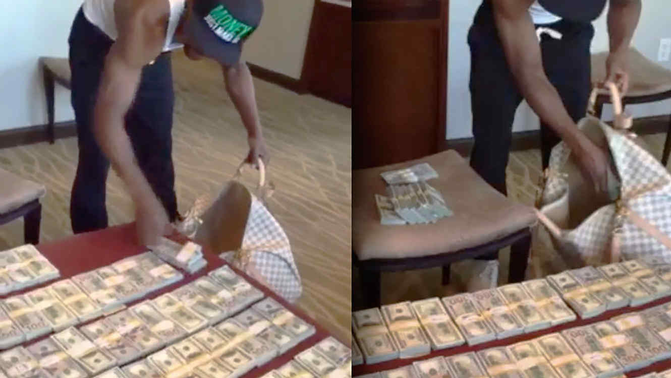 floyd-mayweather-empacando-dinero-video-instagram