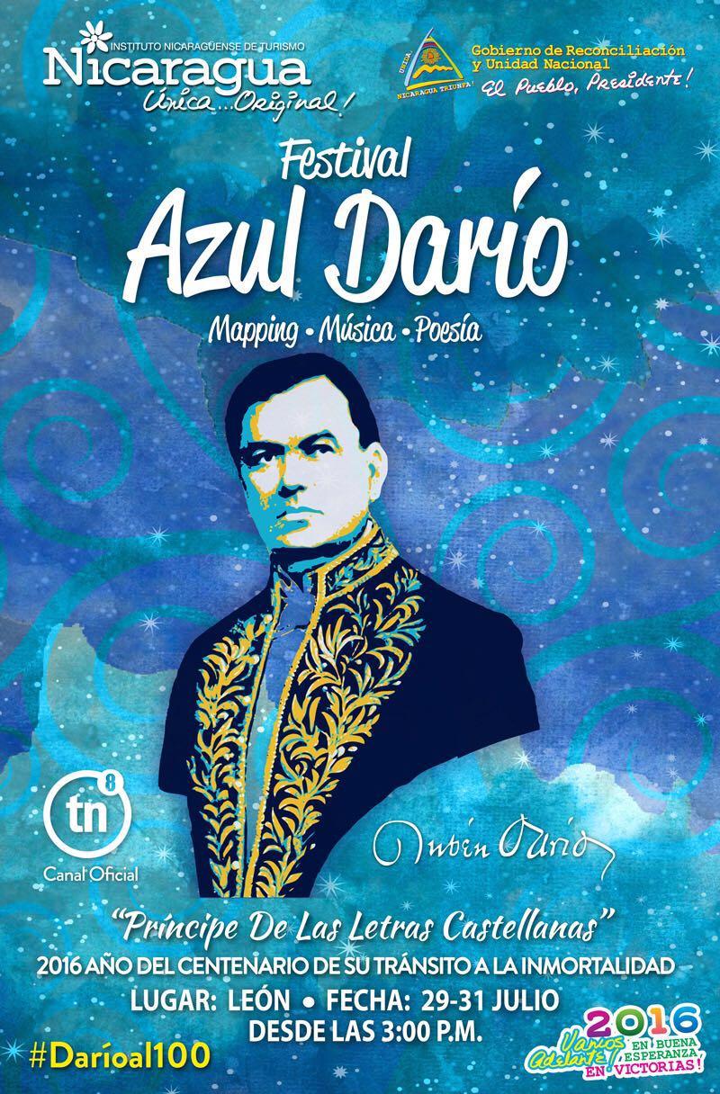Inicia el Festival Azul Darío en celebración del 128