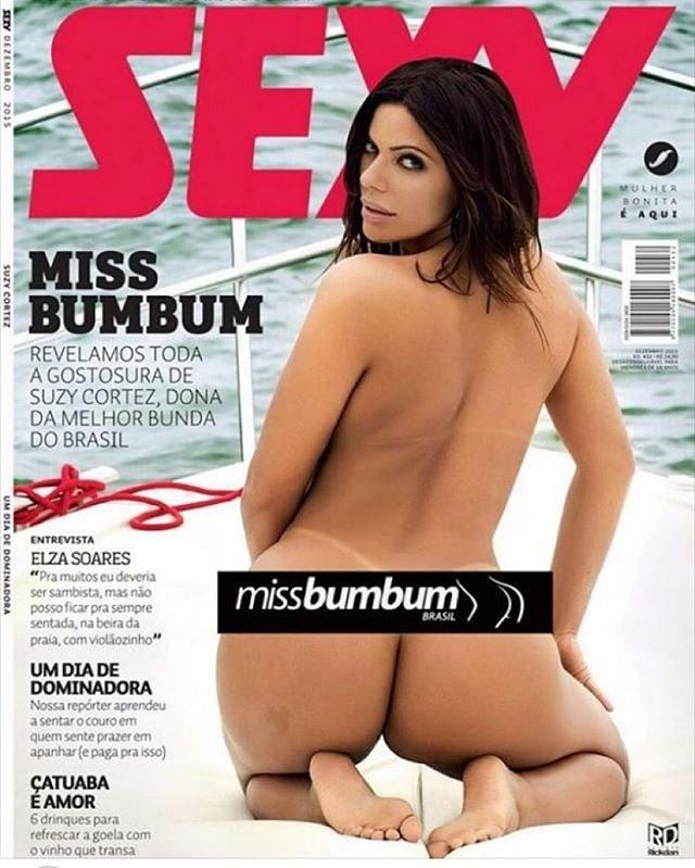 Miss Bumbum Se Desnuda Para Revista