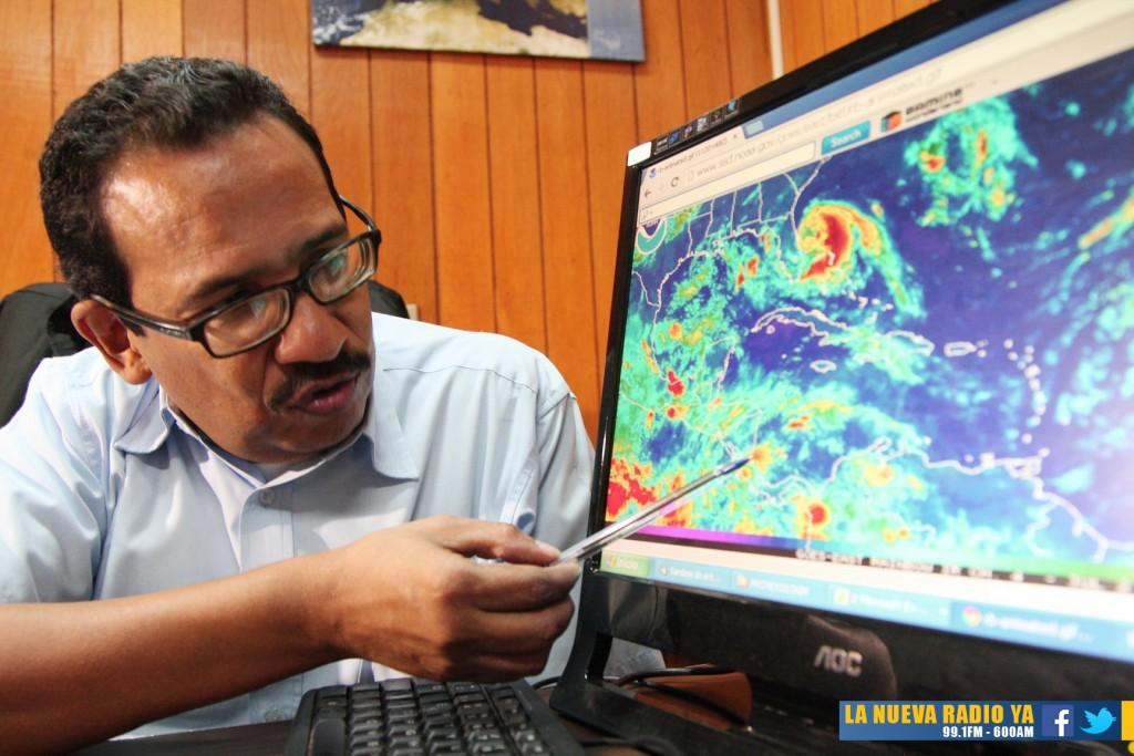 INETER pronostica lluvias