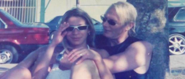 Dirk Bouchamp y su esposa