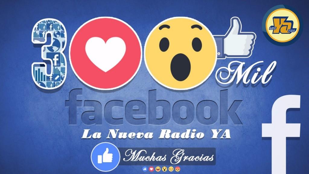 300 mil facebook la nueva radio ya