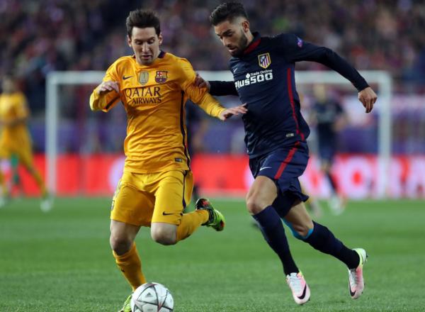 Atlético de Madrid gana 2-0 al Barcelona por cuartos de final