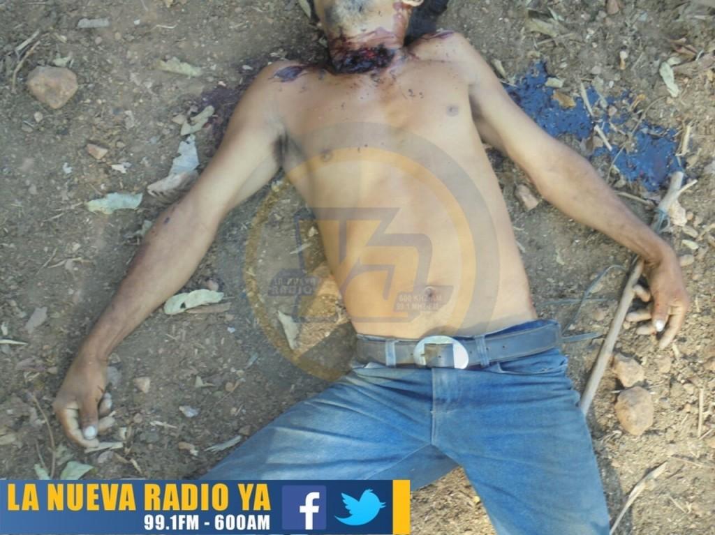 Desconocidos matan a joven de varios machetazos en Jinotega (1)