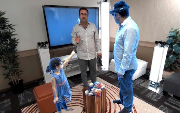 Microsoft crea comunicación con hologramas al estilo %22Star Wars%22