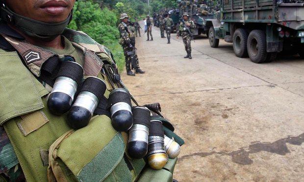 matan a 18 soldados en Filipinas