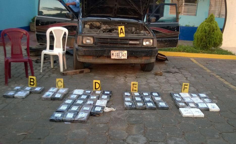 Capturan a nica y guatemalteco con más de 60 kilos de cocaína en Rivas2