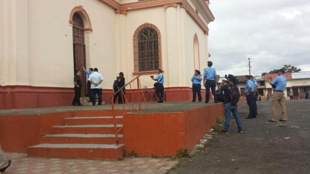 Investigan robo en Parroquia de San Jerónimo en Masaya