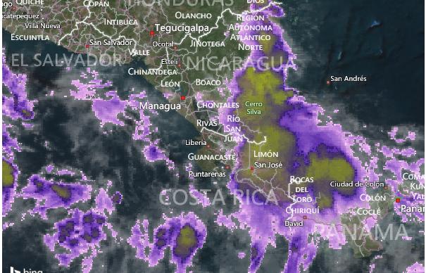 Bajas presiones provocarán lluvias en el territorio nacional