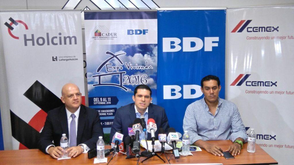 CADUR y BDF anunian expovivienda para el mes de Septiembre