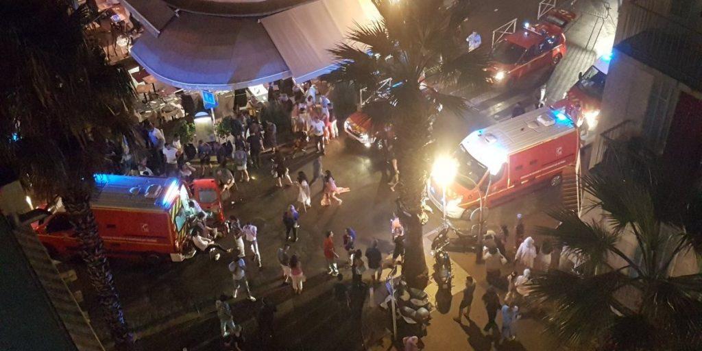 Disparos causan una estampida en un balneario francés