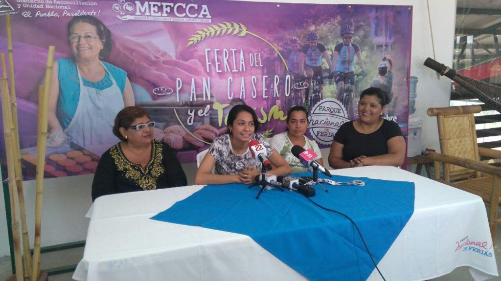 Parque de Ferias promueve el pan casero y el pan de coco recién horneado