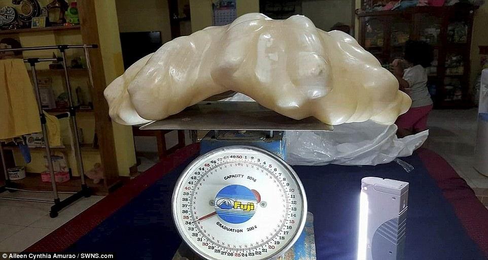 la perla mas grande del mundo