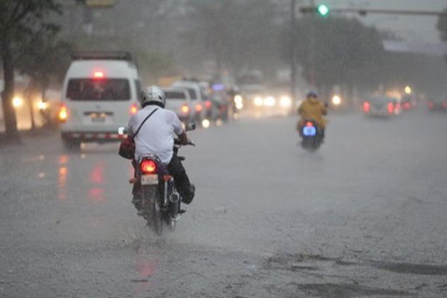 lluvia managua
