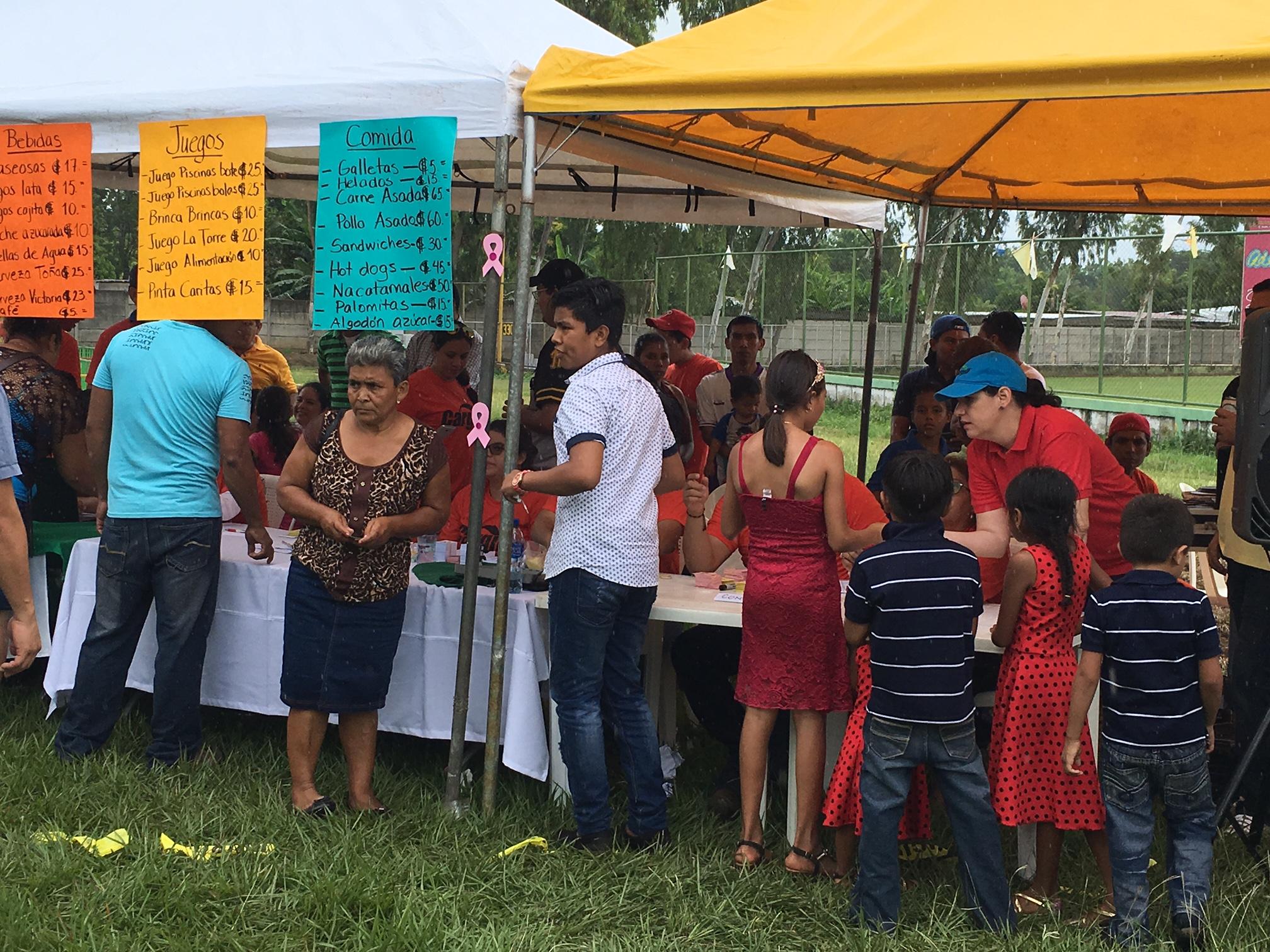 Familias de Nindirí comparten mañana familiar junto a Cargill
