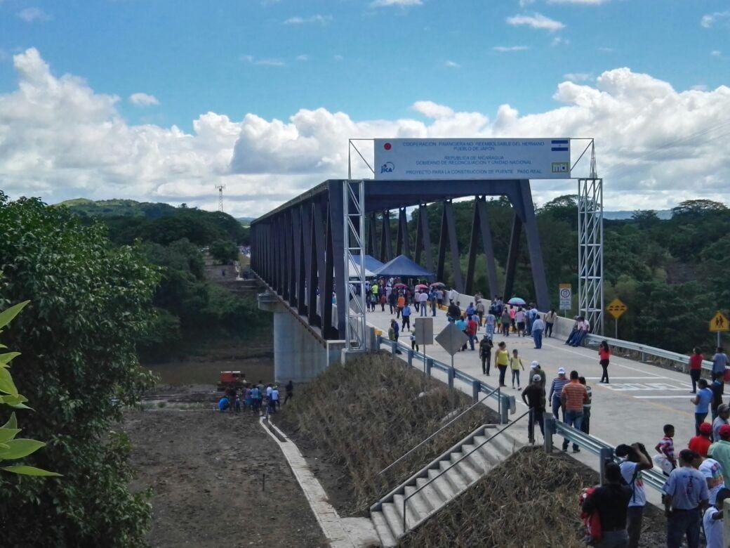 Nuevo puente Paso Real dinamizará la economía en el Norte del país