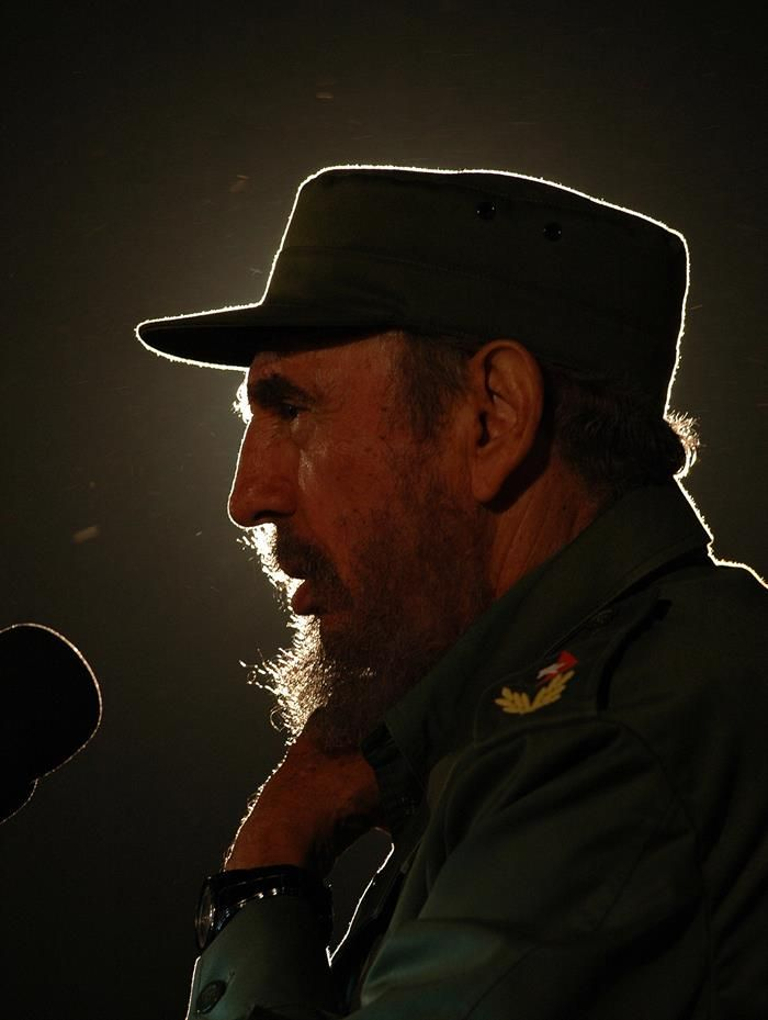 3 de febrero de 2006, del líder cubano Fidel Castro, en La Habana (Cuba).