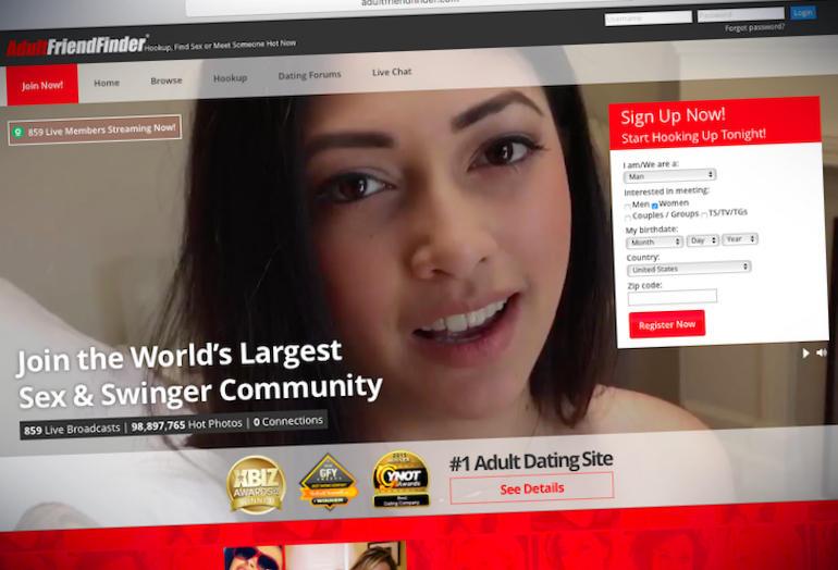 Hackean AdultFriendFinder y divulgan datos de 400 millones de usuarios
